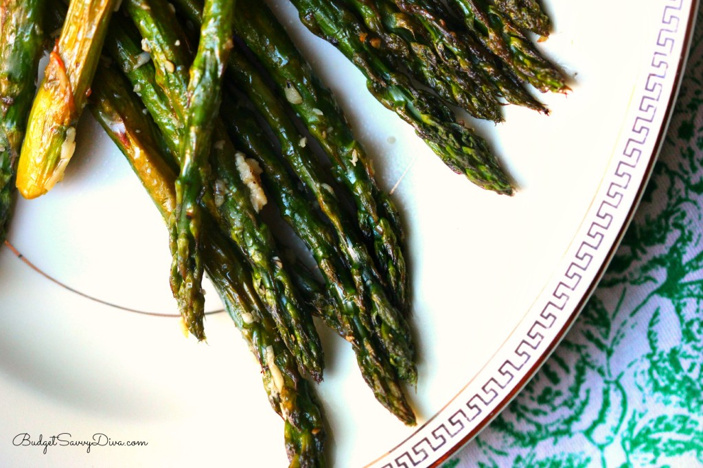 Easy Parmesan- Roasted Asparagus Recipe
