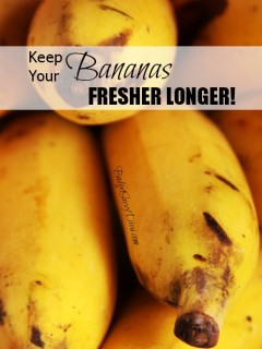 How to make your cereal last longer budget savvy diva how to keep your bananas fresher longer ccuart Gallery