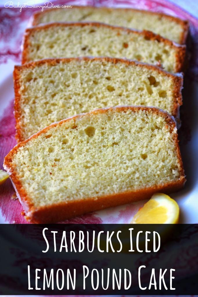 Starbucks Iced Lemon Cake Recipe