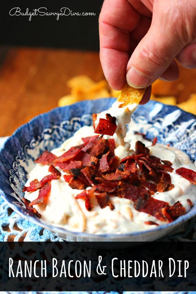 Ranch Bacon and Cheddar Dip Recipe