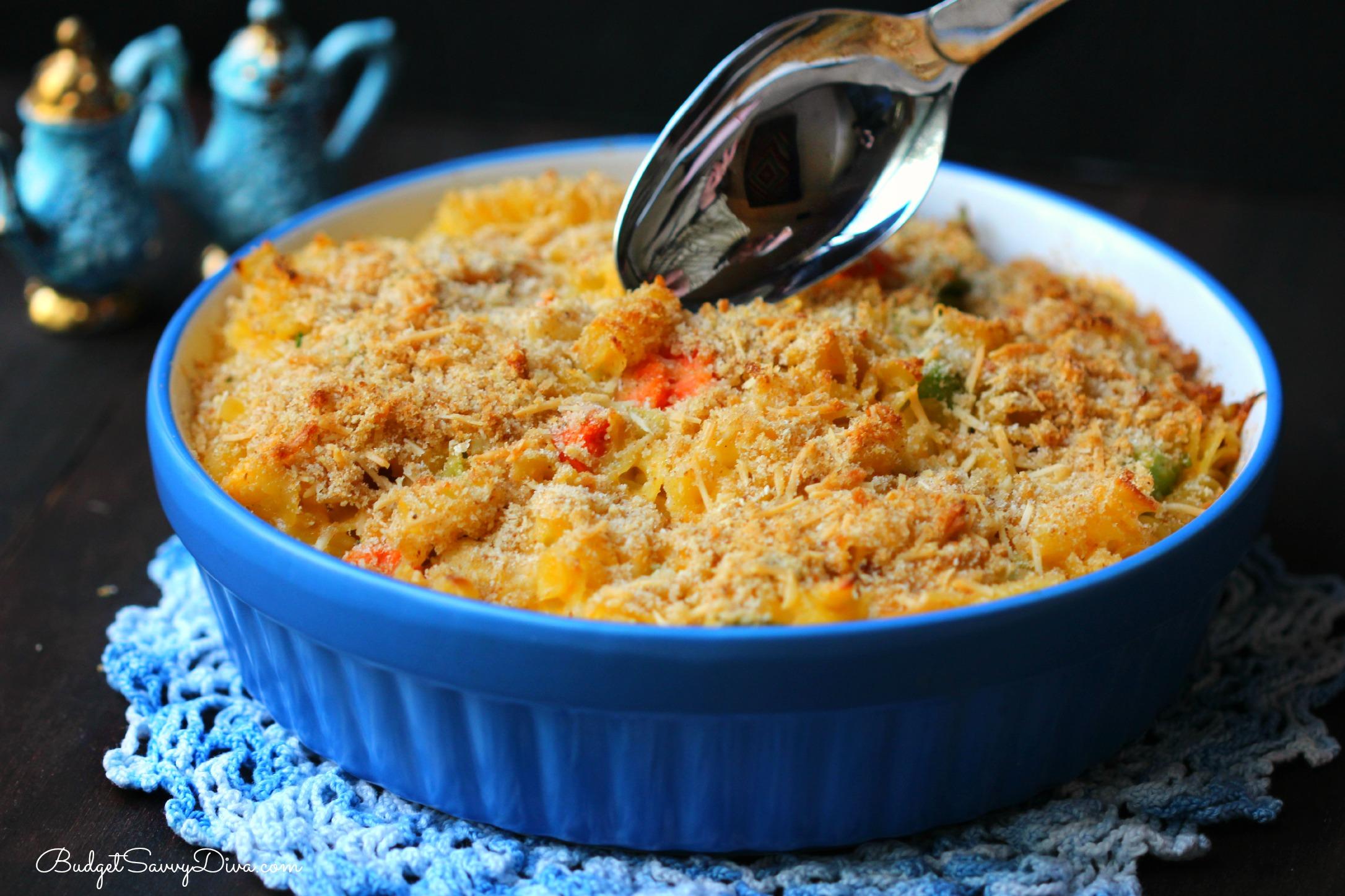 Easy Mac And Cheese Veggie Chicken Casserole Recipe