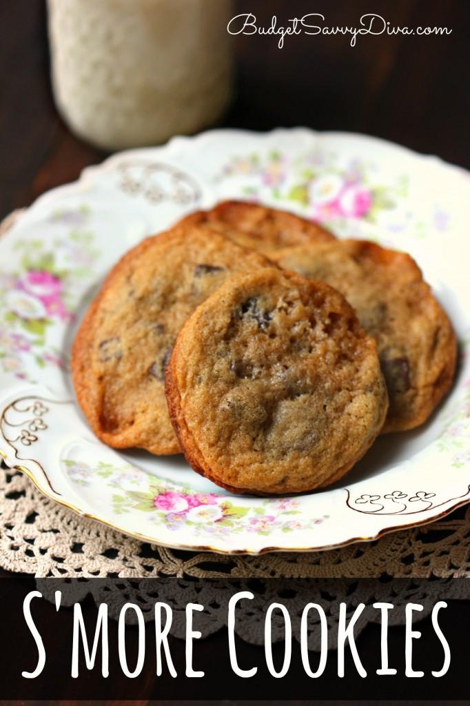 S'more Cookies Recipe