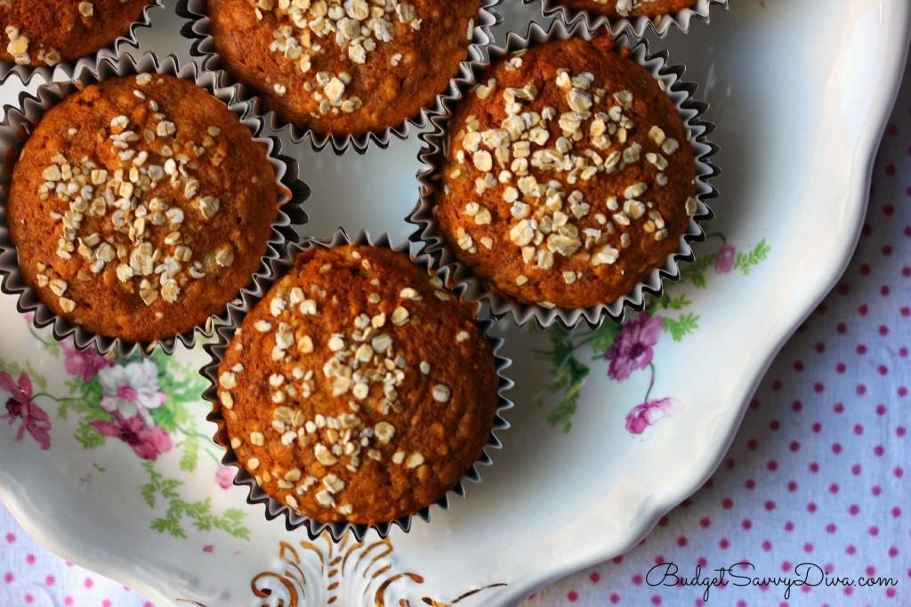 Oatmeal Banana Muffins Recipe - Marie Recipe
