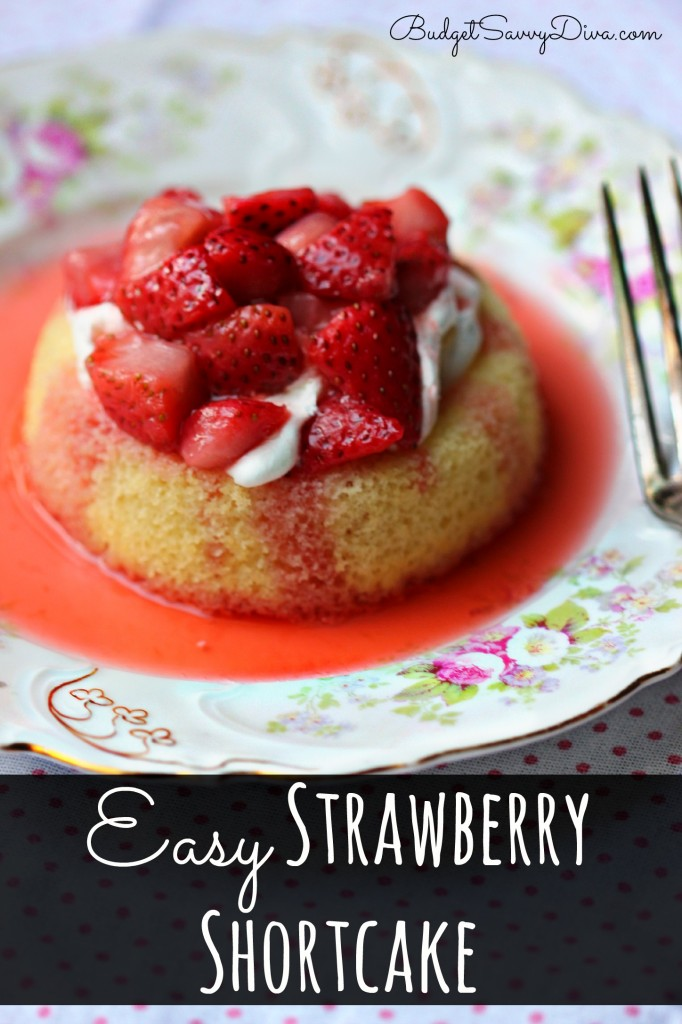 how to make simple strawberry cake
