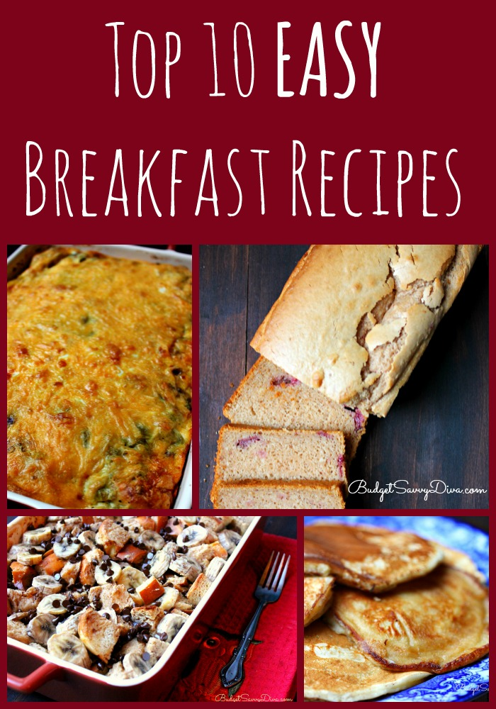 Top 10 Easy Breakfast Recipes