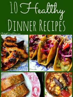 healthy dinner recipes