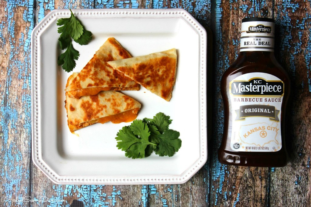 Cheesy BBQ Chicken Quesadilla Recipe