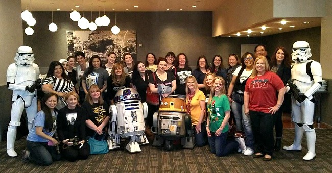 Starwars Disney Media Trip