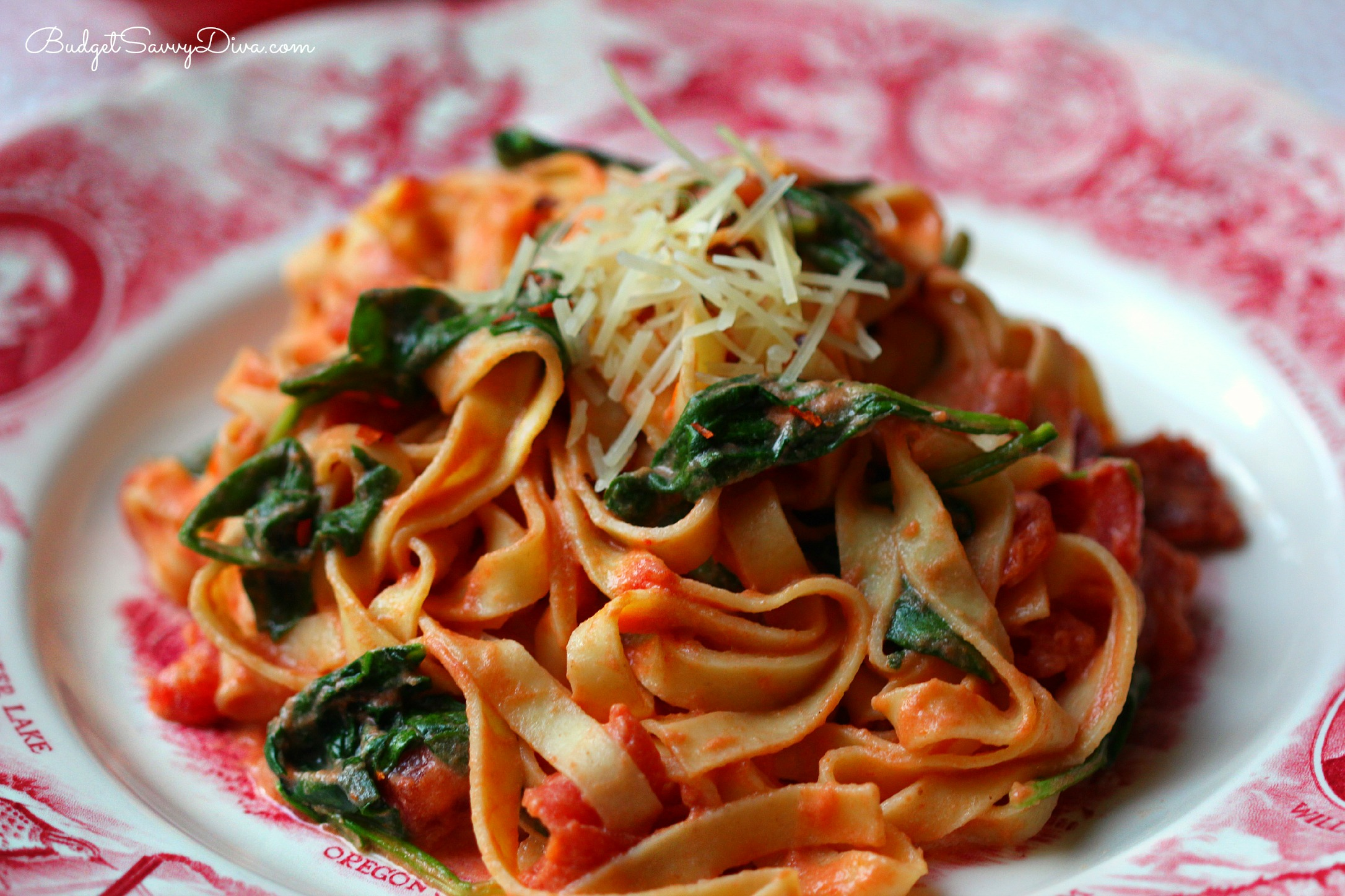 Pasta and sun dried tomatoes recipe