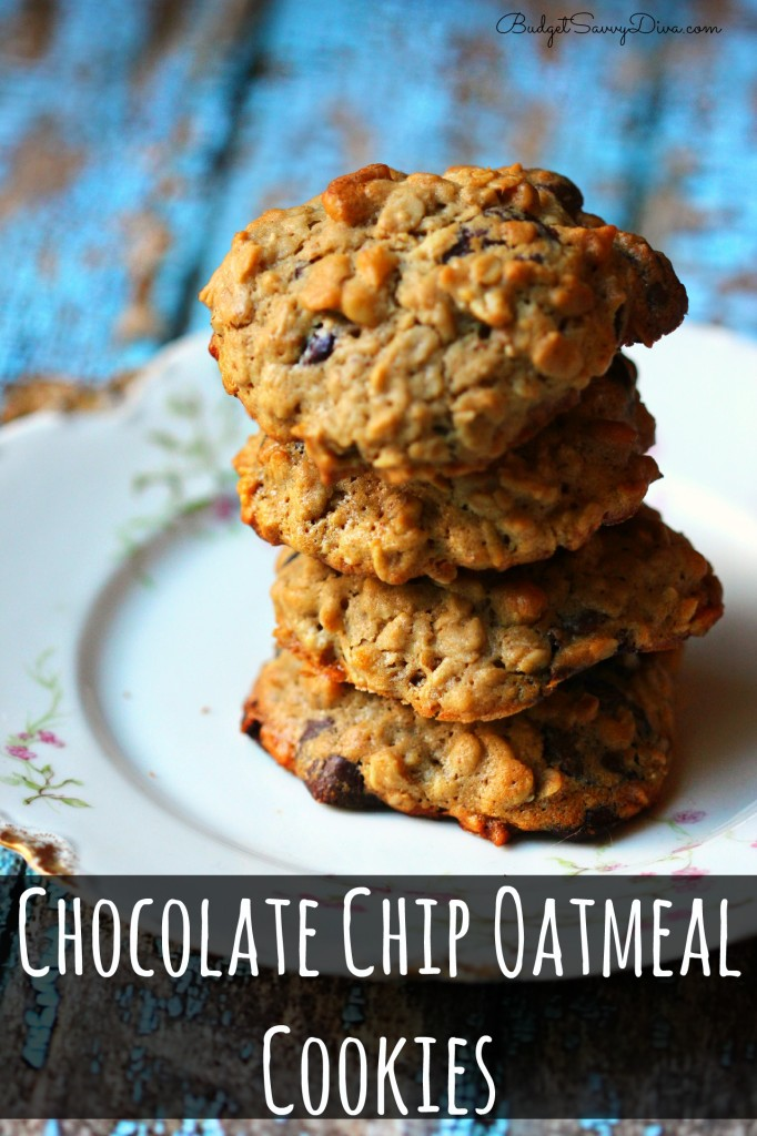 Chocolate Chip Oatmeal Cookies - Marie Recipe