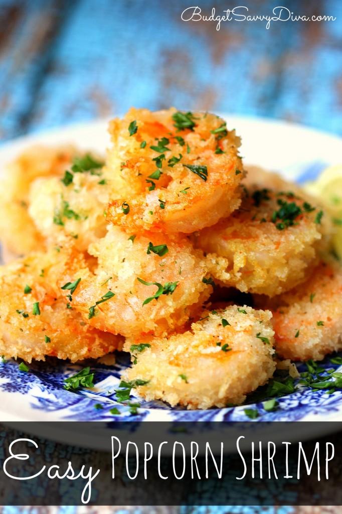 Easy Popcorn Shrimp Recipe | Budget Savvy Diva