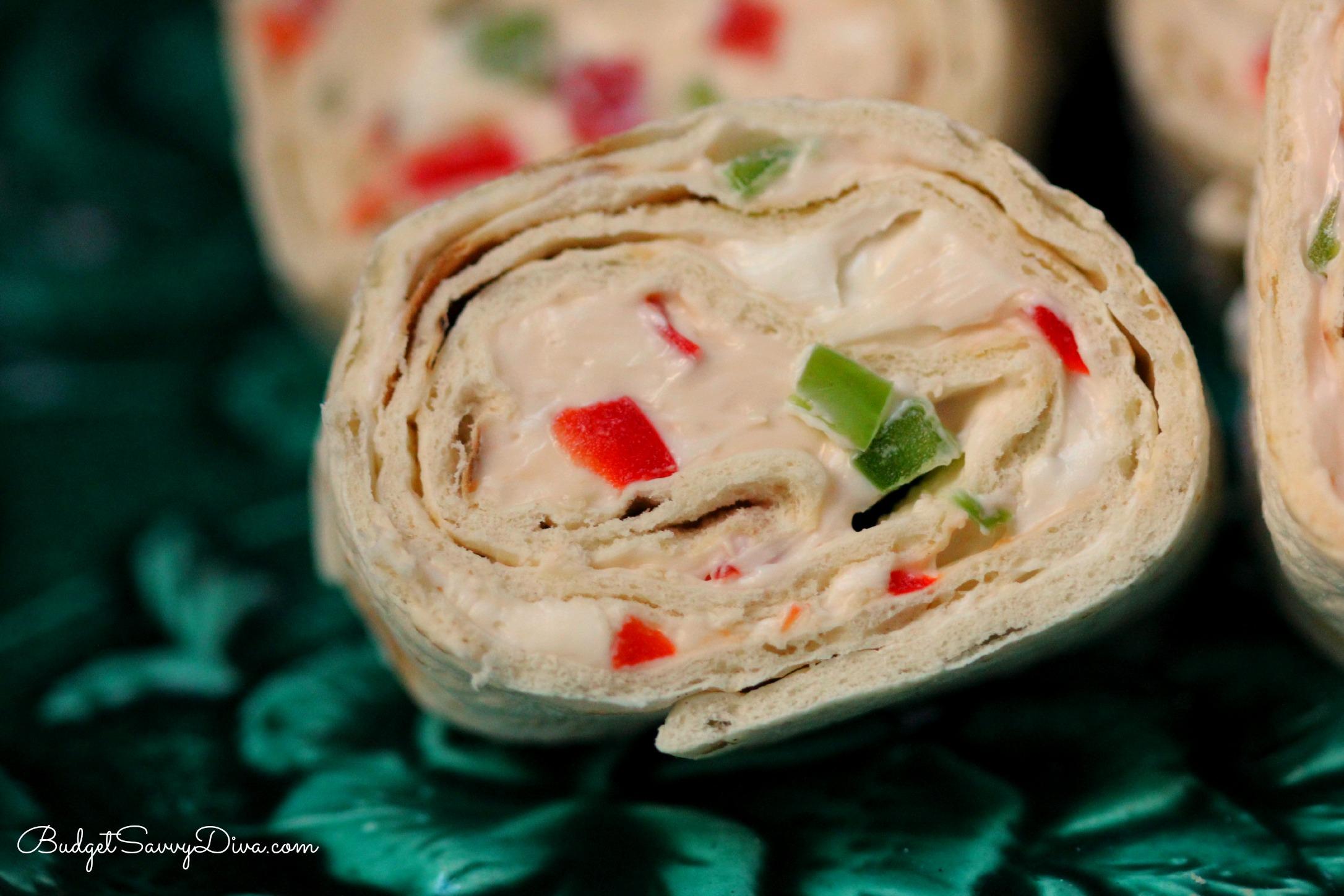 Spicy Tortilla Roll-Ups Recipe | Budget Savvy Diva