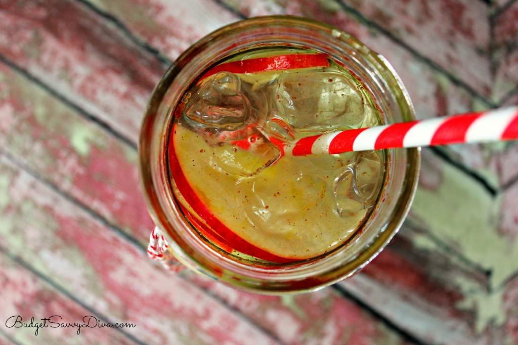 Apple Detox Infused Water Recipe