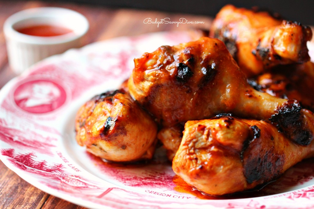 Barbecued Chicken - Marie Recipe