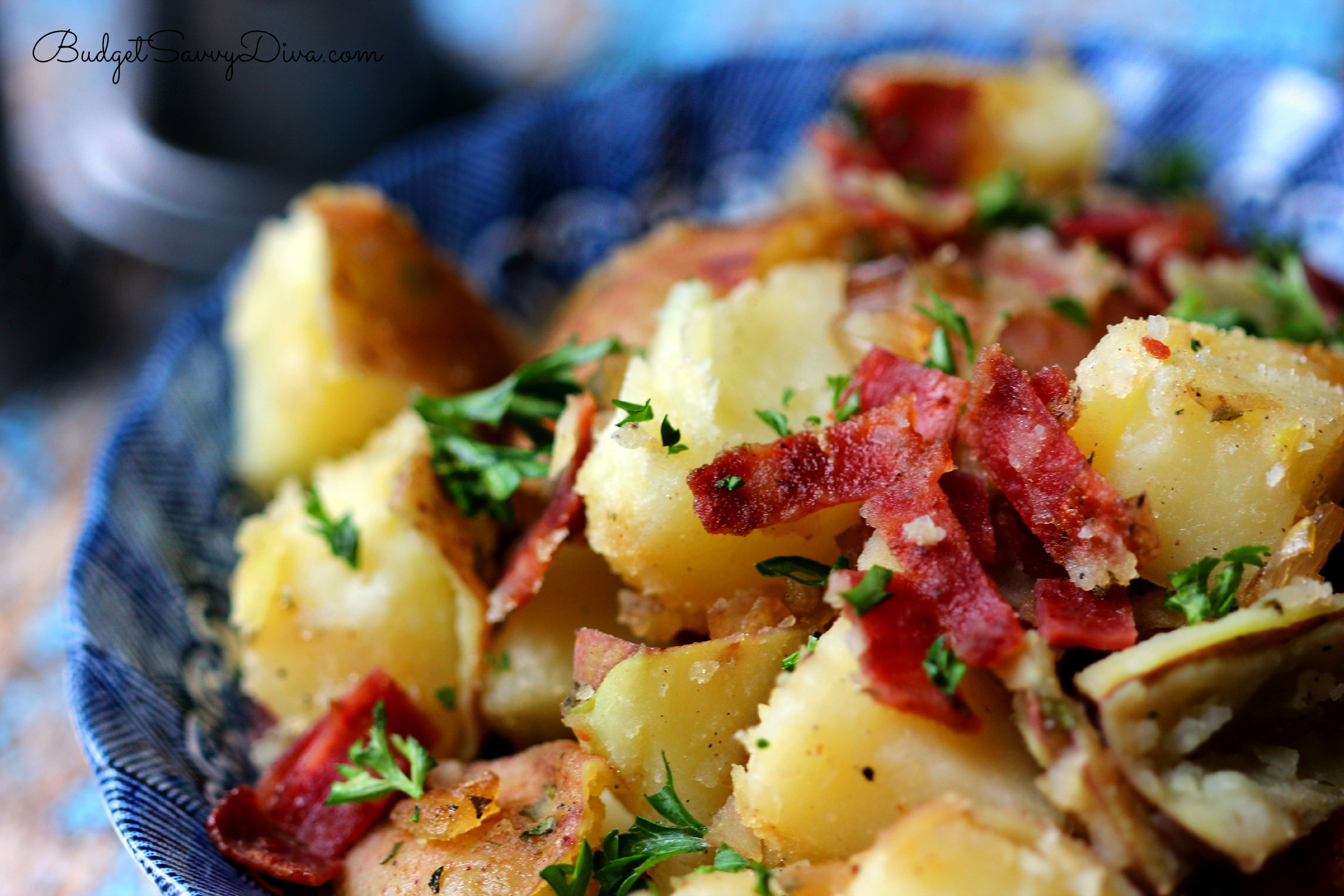 German Potato Salad Recipe | Budget Savvy Diva