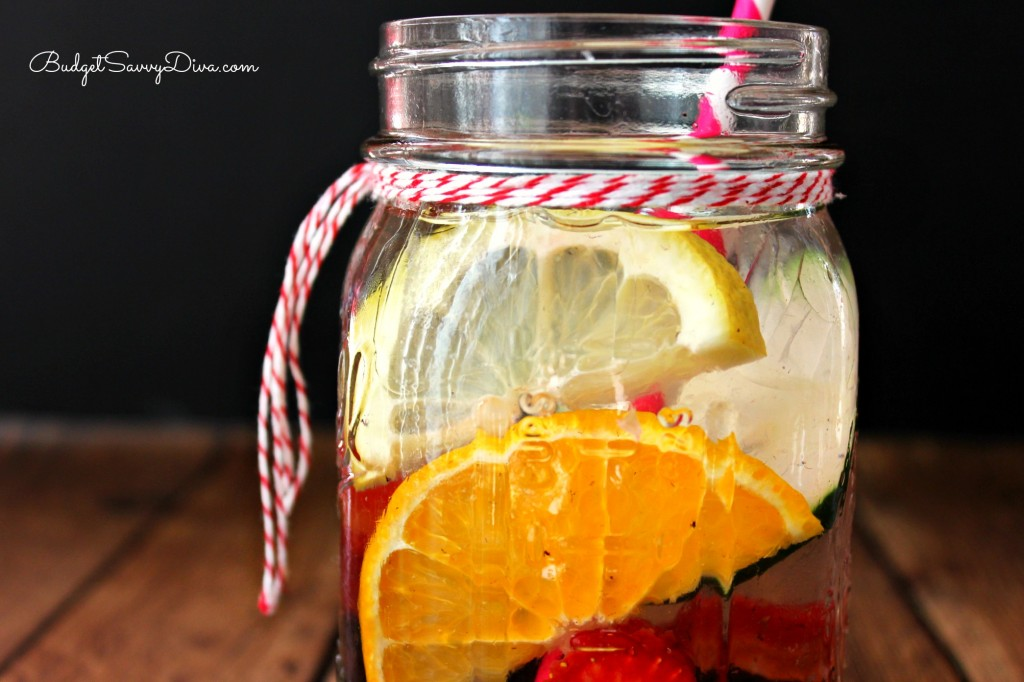 Energy Boost Detox Water Recipe