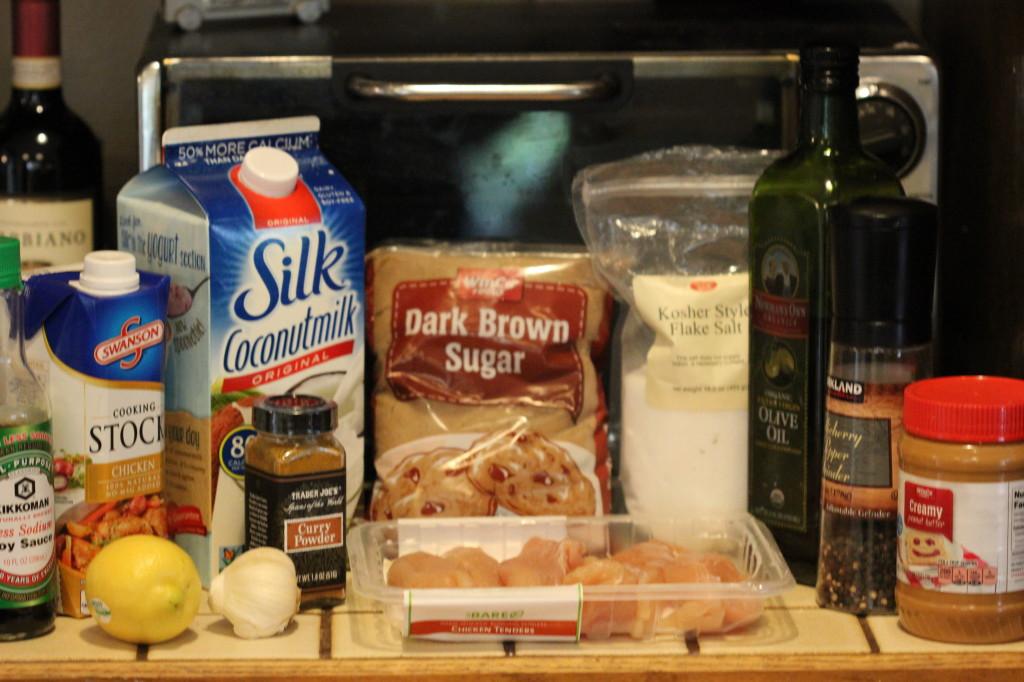 Yummy Peanut Chicken Kabobs Recipe