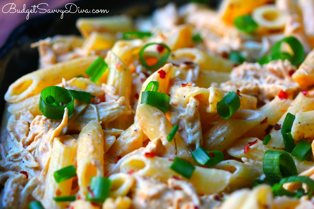 Buffalo Chicken Cheesy Pasta Recipe