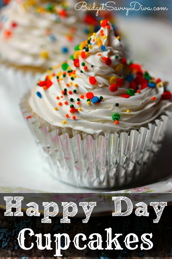 Happy Day Cupcakes Recipe