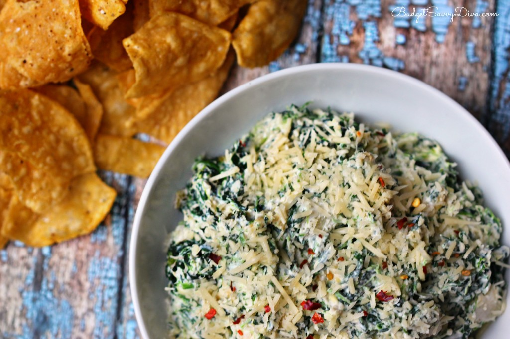Olive Garden Hot Artichoke Spinach Dip Recipe