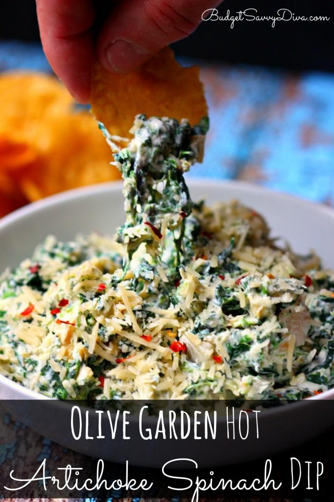 Olive Garden Hot Artichoke Spinach Dip Recipe Budget Savvy Diva