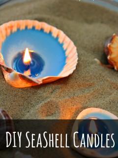 seashell candle 2