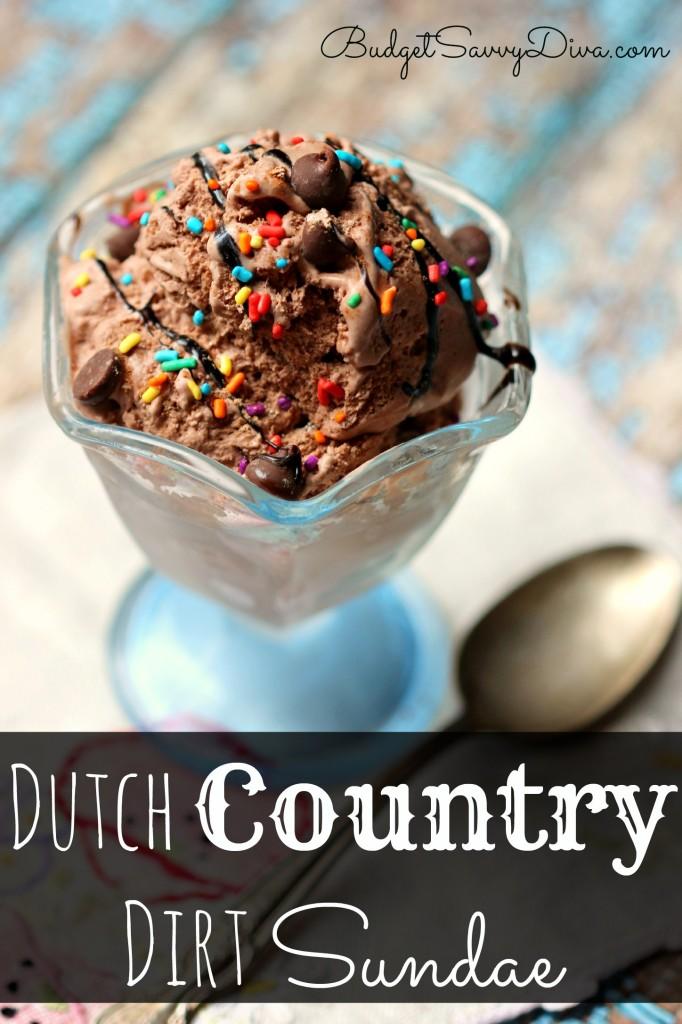 Dutch Country Dirt Sundae Recipe - Marie Recipe