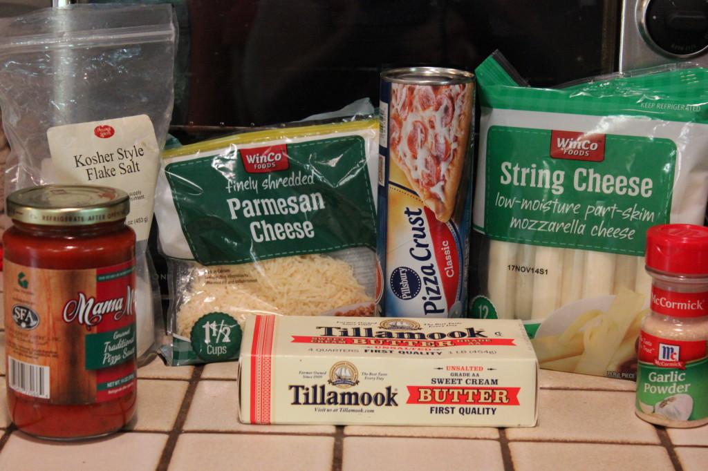 Cheese-Stuffed Bread Sticks - Marie Recipe