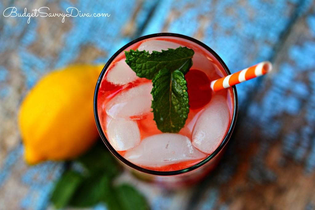 The BEST Cherry Lemonade Recipe