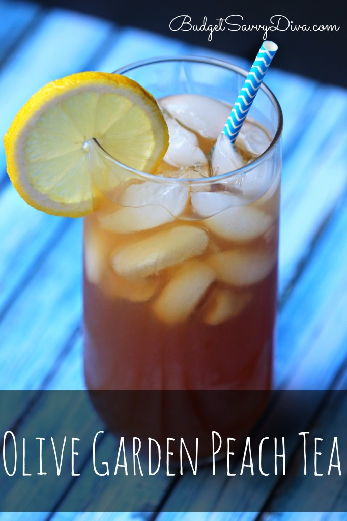 Olive Garden Peach Tea Recipe