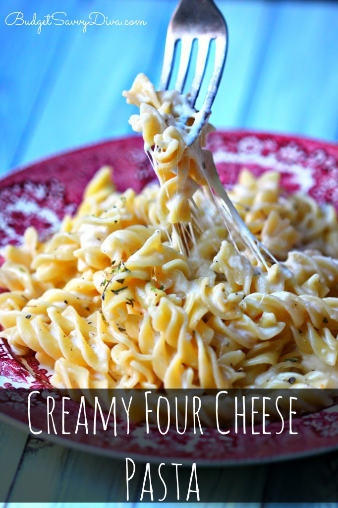 Cream Four Cheese Pasta Recipe - Marie Recipe
