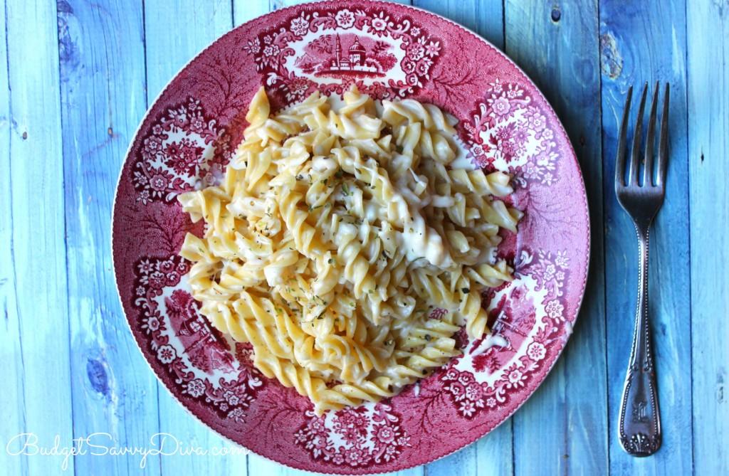 Cream Four Cheese Pasta Recipe - Marie Recipe
