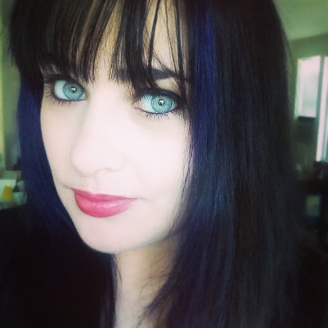 sara blue hair
