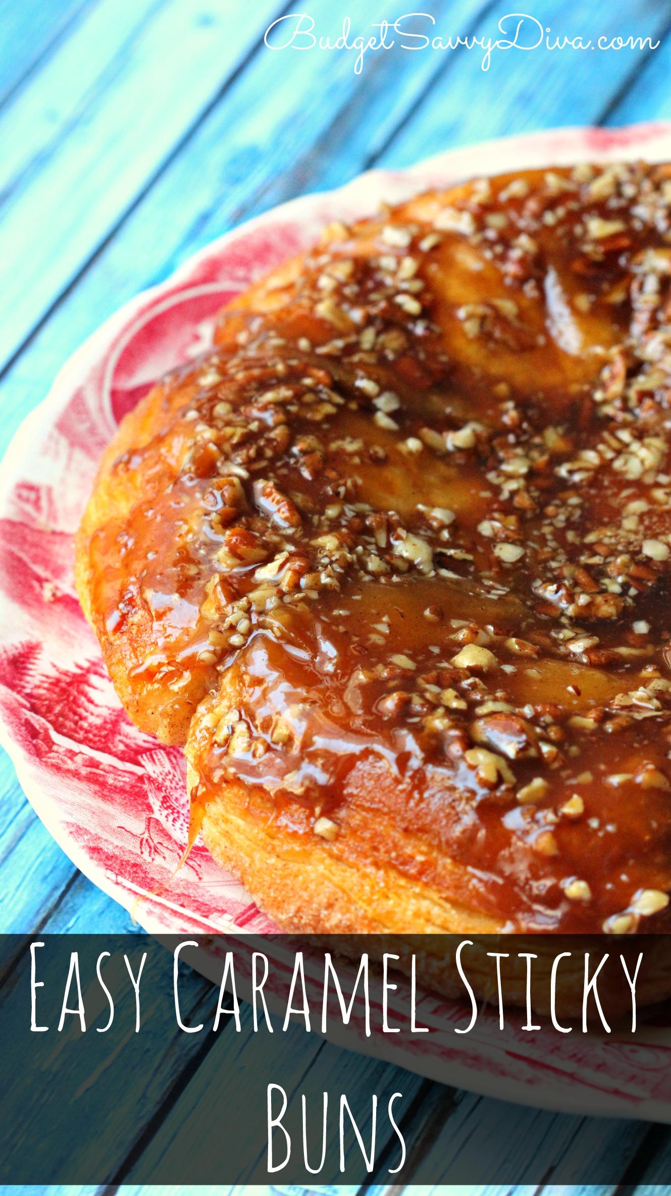 how to make sticky cinnamon buns