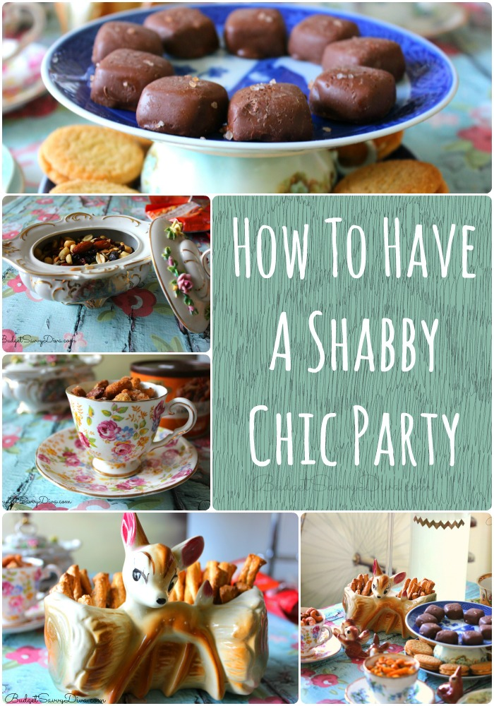How To Have A Shabby Chic Party