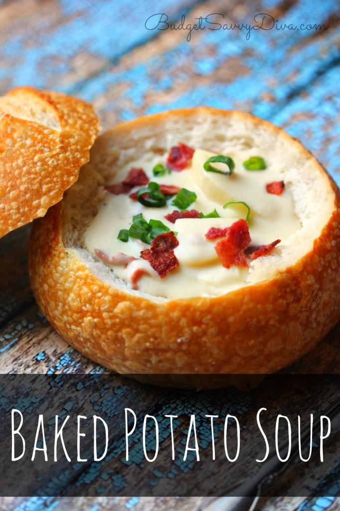 Baked Potato Soup Recipe — Dishmaps