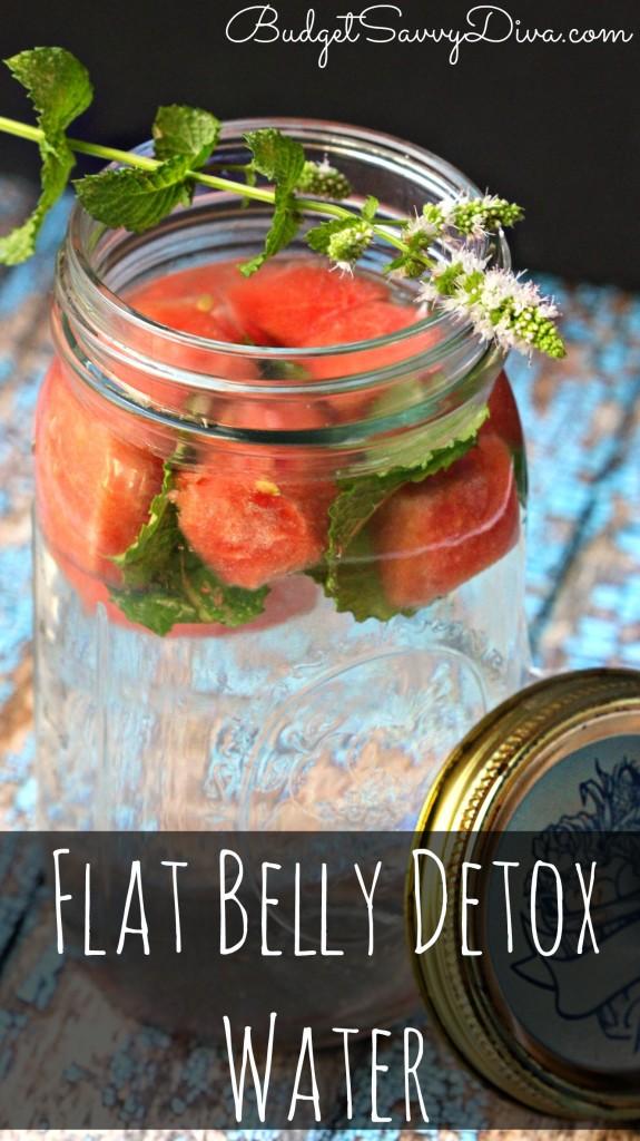 Flat Belly Detox Water Recipe