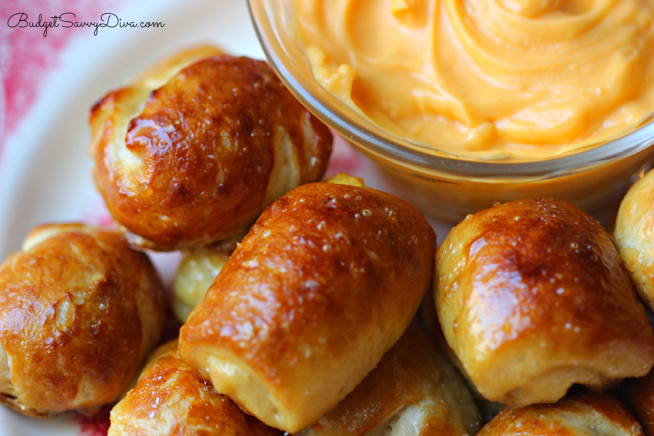 Homemade Soft Pretzel Bites Recipe — Dishmaps