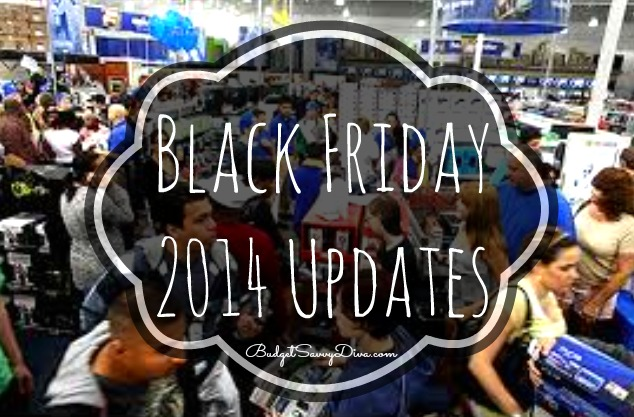 Black Friday 2014 Update