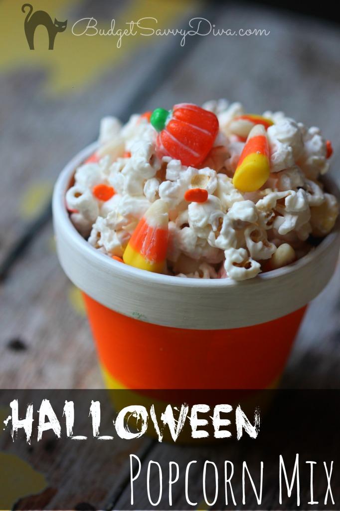Halloween Popcorn Mix Recipe