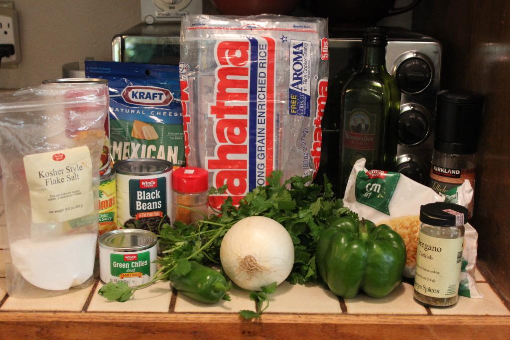 Cheesy Enchilada Rice Skillet Recipe