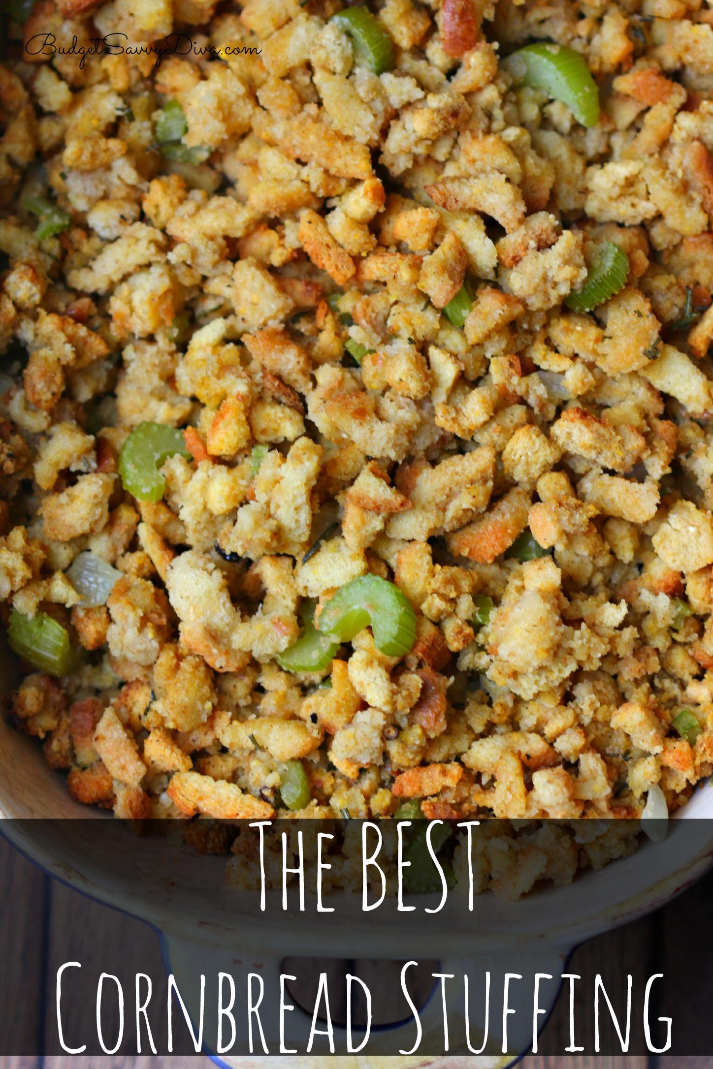 Best Cornbread Stuffing Recipe — Dishmaps