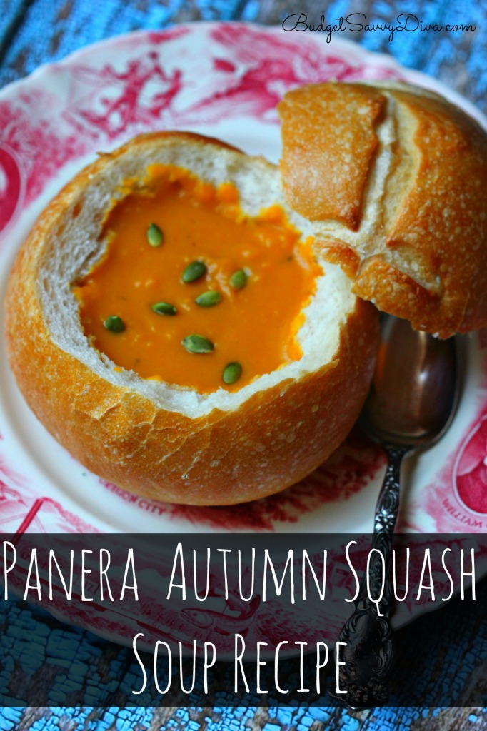 Panera Autumn Squash Soup Recipe