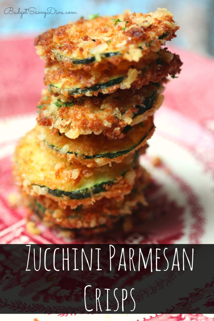 Zucchini Parmesan Crisps Recipe
