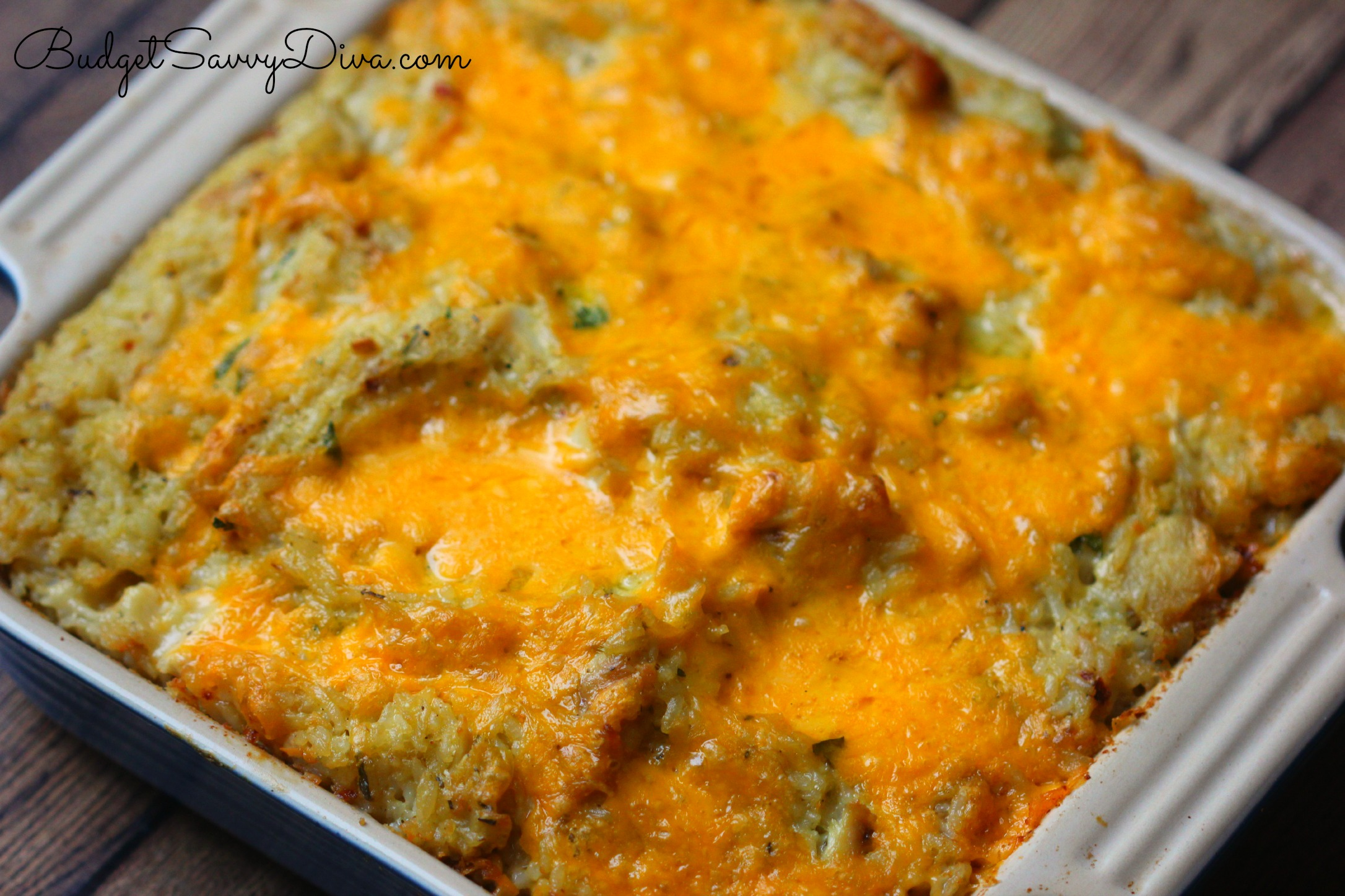 If you do make the Cheesy Chicken and Rice Casserole Recipe please let ...