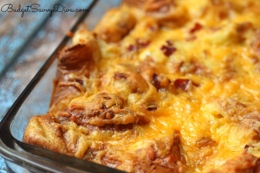 Croissant Breakfast Casserole Recipe
