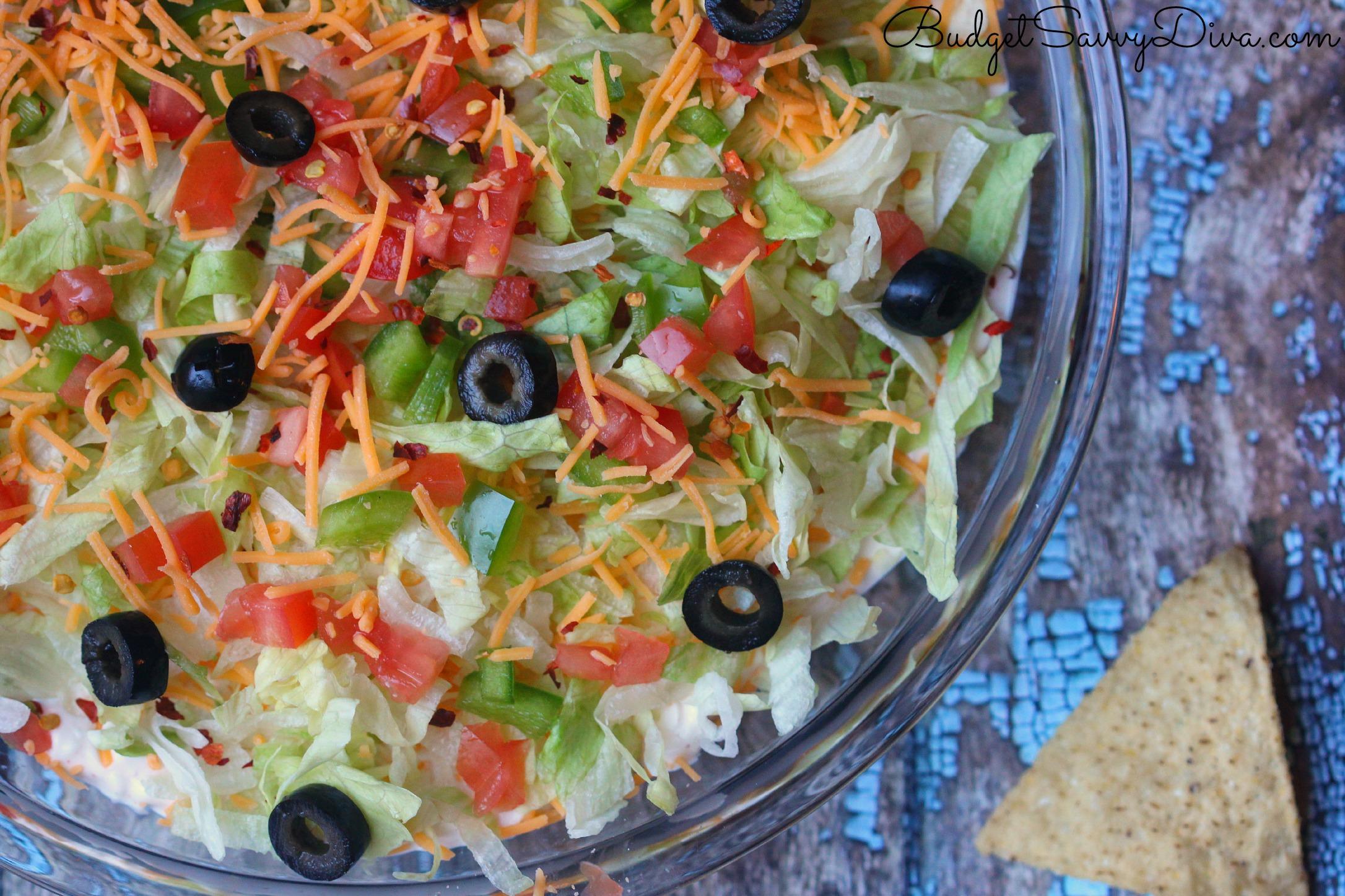 Taco Dip Recipe — Dishmaps