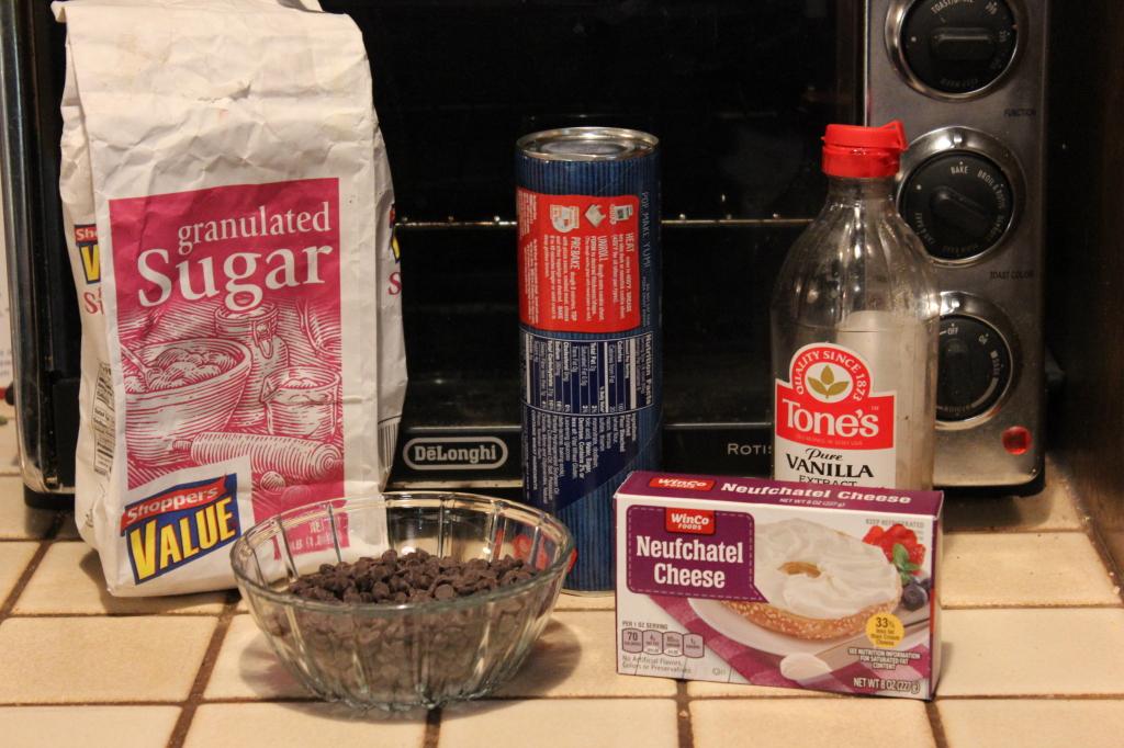 Chocolate Chip Cream Cheese Pinwheels Recipe