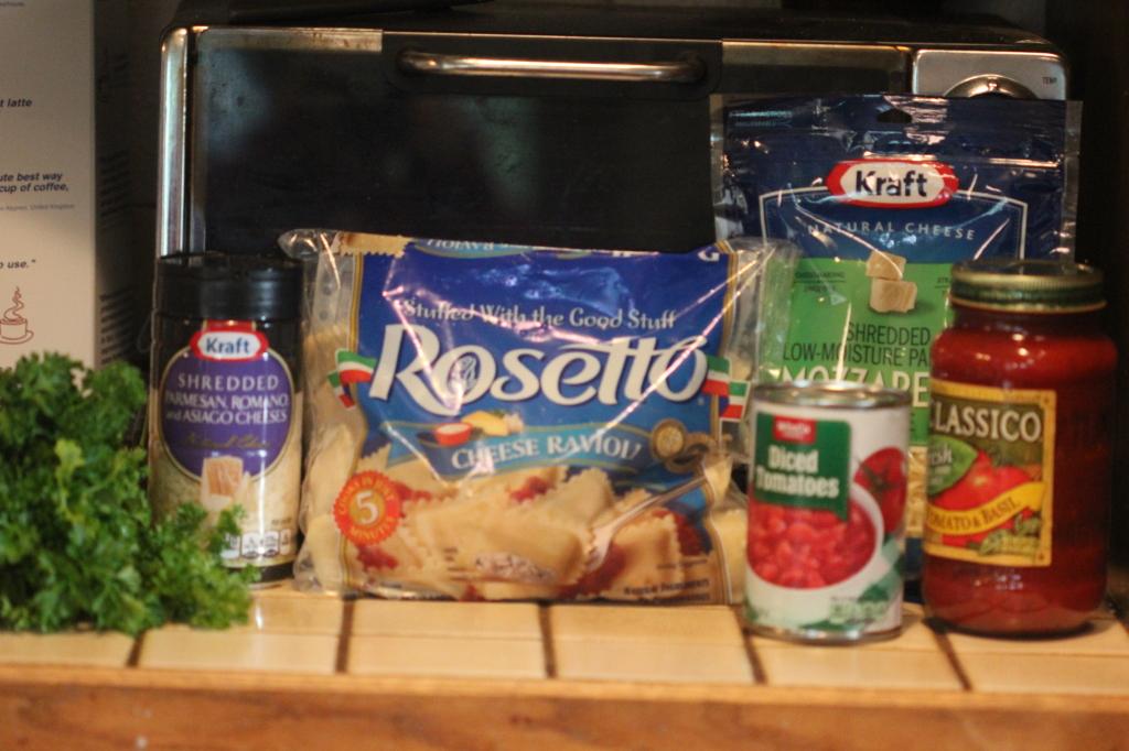 Ravioli Bake Recipe