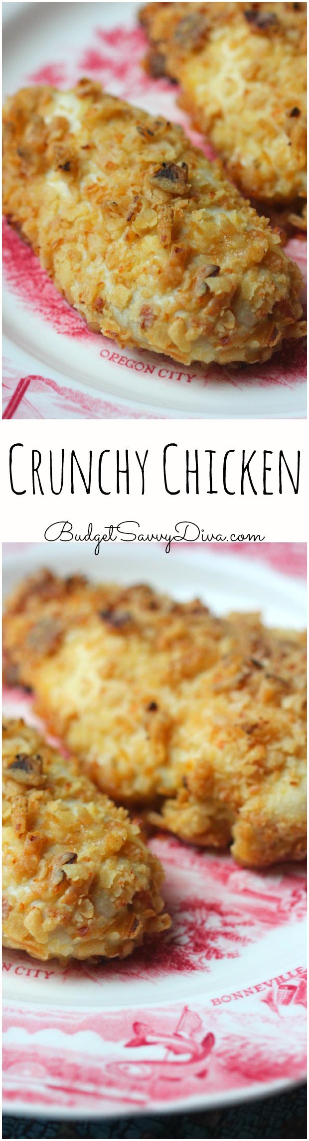 Crunchy Chicken Recipe